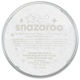 Snazaroo Face Paint Sparkle White 18ml pot