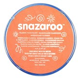 Snazaroo Face Paint Classic Orange 18ml pot