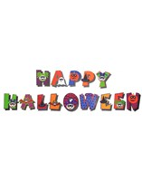Make Your Own Happy Halloween Banner