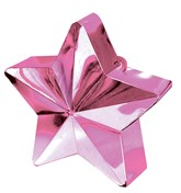 Pink 6oz Star Balloon Weight