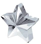 Silver 6oz Star Balloon Weight