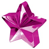 Magenta 6oz Star Balloon Weight