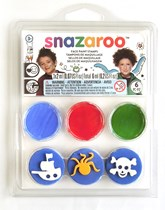 Snazaroo Pirate Stamp Set