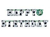 Football Happy Birthday Add an Age Banner