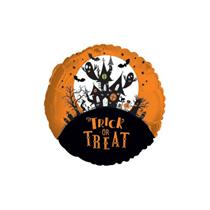 "Halloween Trick or Treat 9"" Mini Shape Foil Balloon"