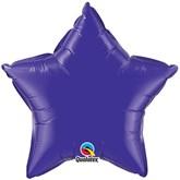 "Quartz Purple 36"" Star Foil Balloon"