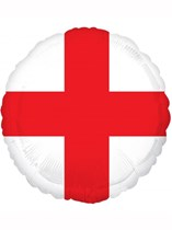 "England St. George's Cross 18"" Foil Balloon"