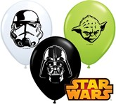 "Star Wars 5"" Latex Balloons 100pk"