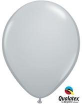 "11"" Grey Latex Balloons 100pk"