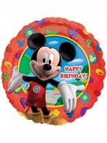 "17"" Mickey Mouse 'Happy Birthday' Foil Balloon"