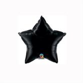 "Onyx Black 4"" Star Foil Balloon"