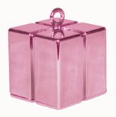 Pearl Pink 3.9oz Gift Box Balloon Weight
