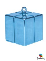 Light Blue 3.9oz Gift Box Balloon Weight