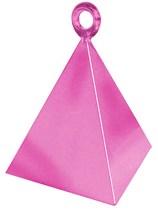 Pearl Pink Pyramid Balloon Weight