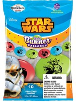 "Star Wars Quick Link 12"" Latex Balloons 10pk"