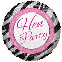 Hen Night Girls Night Out 18 Inch Foil Balloon