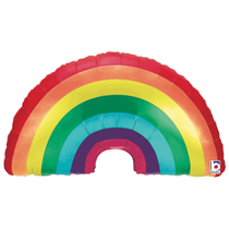 "Rainbow 34"" Foil Balloon"