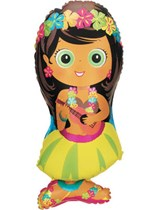 "Hula Girl 28"" Foil Balloon"