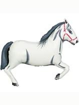 "White Horse 43"" Supershape Foil Balloon"