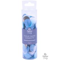 Blue, White & Gold Tissue Confetti 18g