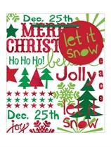 Christmas Sayings Small Gift Bag