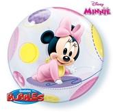 "Baby Minnie Bubble Balloon 22"""