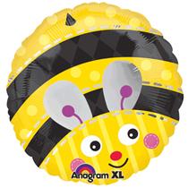 "Cute Bumble Bee 18"" Foil Balloon"