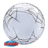 "Halloween Spider's Web Deco Bubble Balloon 24"""