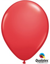 "11"" Red Latex Balloons 6pk"