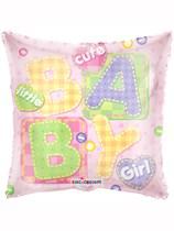 "18"" Baby Girl Letters Foil Balloon"