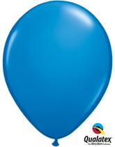 "11"" Dark Blue Latex Balloons 6pk"