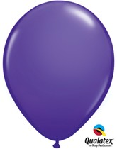 "11"" Purple Violet Latex Balloons 6pk"