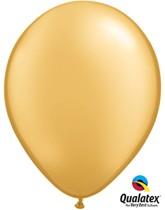 "11"" Metallic Gold Latex Balloons 6pk"