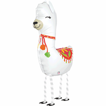 Smiling Llama Balloon Friends Foil Balloon