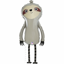 Sloth Walking Balloon Friends Foil Balloon