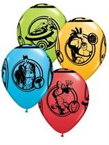 "Assorted Avengers 11"" Latex Balloons 25pk"