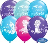 "Frozen 11"" Latex Balloons 25pk"