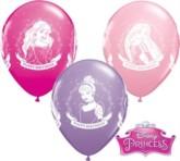 "Disney Princess Happy Birthday 11"" Latex Balloons 25pk"
