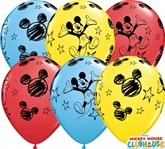 "Mickey Mouse 11"" Latex Balloons 25pk"