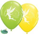 """Disney Tinker Bell 11"""" Latex Balloons 25pk"""