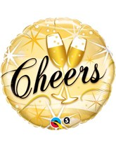 "Cheers Celebration 18"" Foil Balloon"