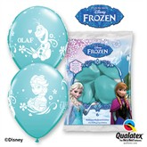 "Frozen 11"" Latex Balloons 6pk"
