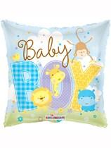 "18"" Baby Boy Animals Foil Balloon"