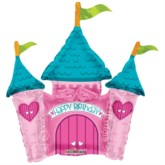 "Princess Castle Air Fill 14"" Foil Balloon"