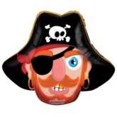"""Pirate Air Fill 14"""" Foil Balloon"""