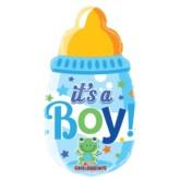 "It's a Boy Bottle Air Fill 14"" Foil Balloon"