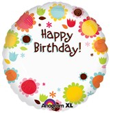"Happy Birthday Personalisable 18"" Foil Balloon"