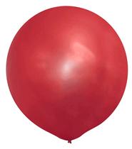 "Metallic Red 20"" Latex Balloons 10pk"