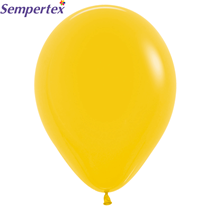"Sempertex Solid Goldenrod 12"" Latex Balloons 50pk"