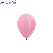 "Sempertex Satin Pink 5"" Latex Balloons 100pk"